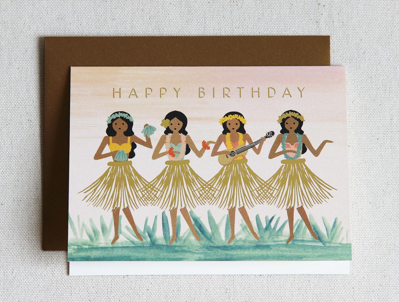 Carte hawaienne Rifle paper co - Mathûvû
