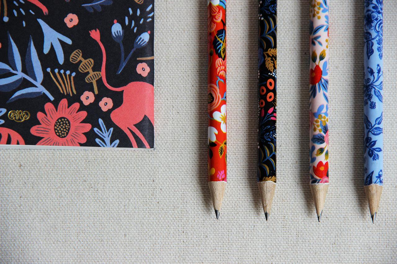Set de 4 crayons Rifle - Mathûvû