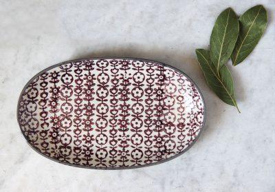 mathûvû vaisselle cuisine ravier prune bloomingville céramique lyon