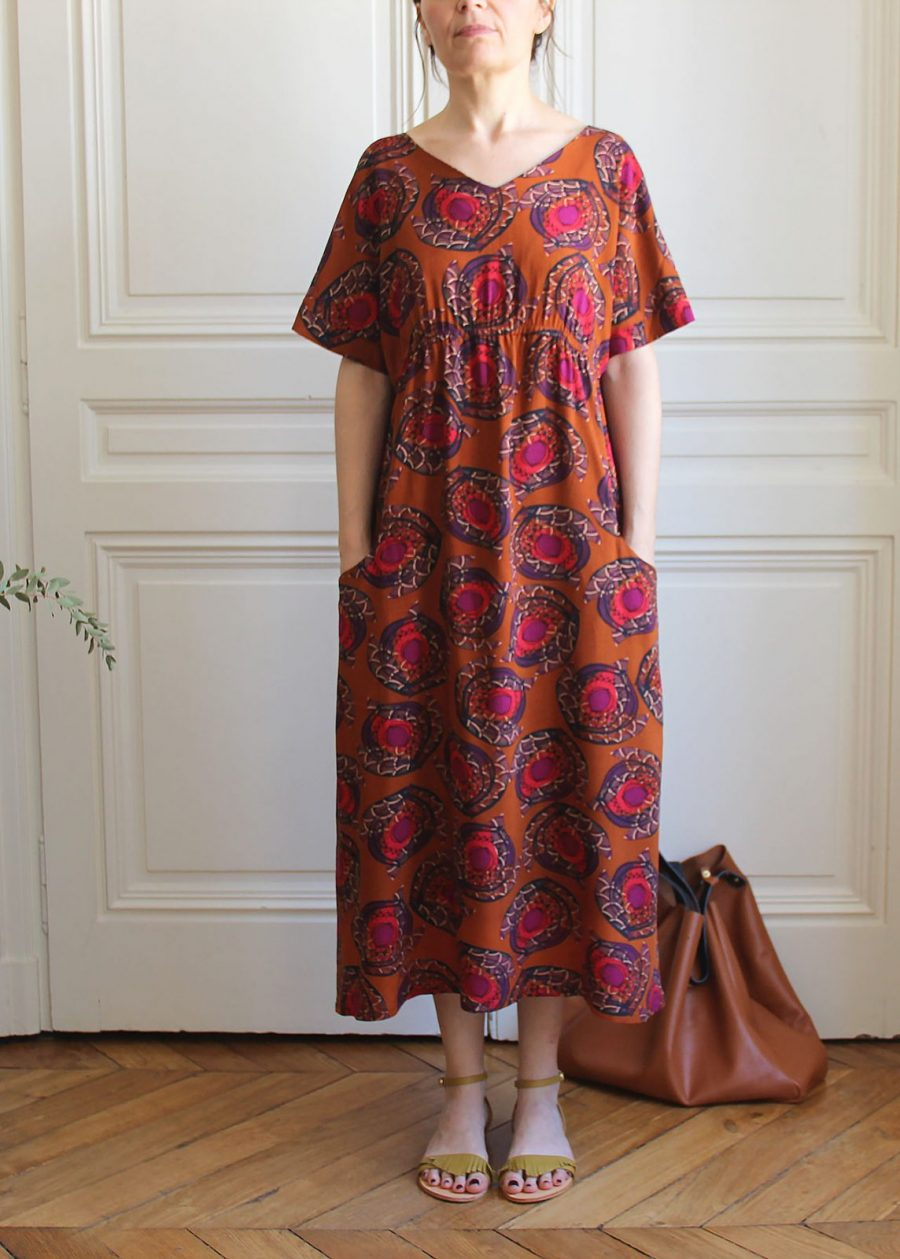 mathûvû créations vêtements robe Suzanne K lyon