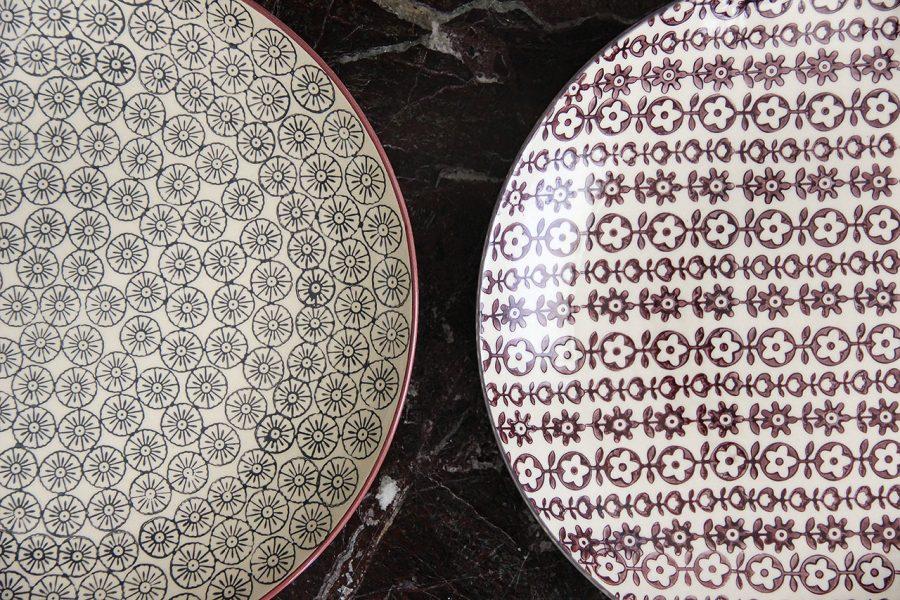 mathûvû assiette grand modèle bloomingville céramique vaisselle cuisine lyon