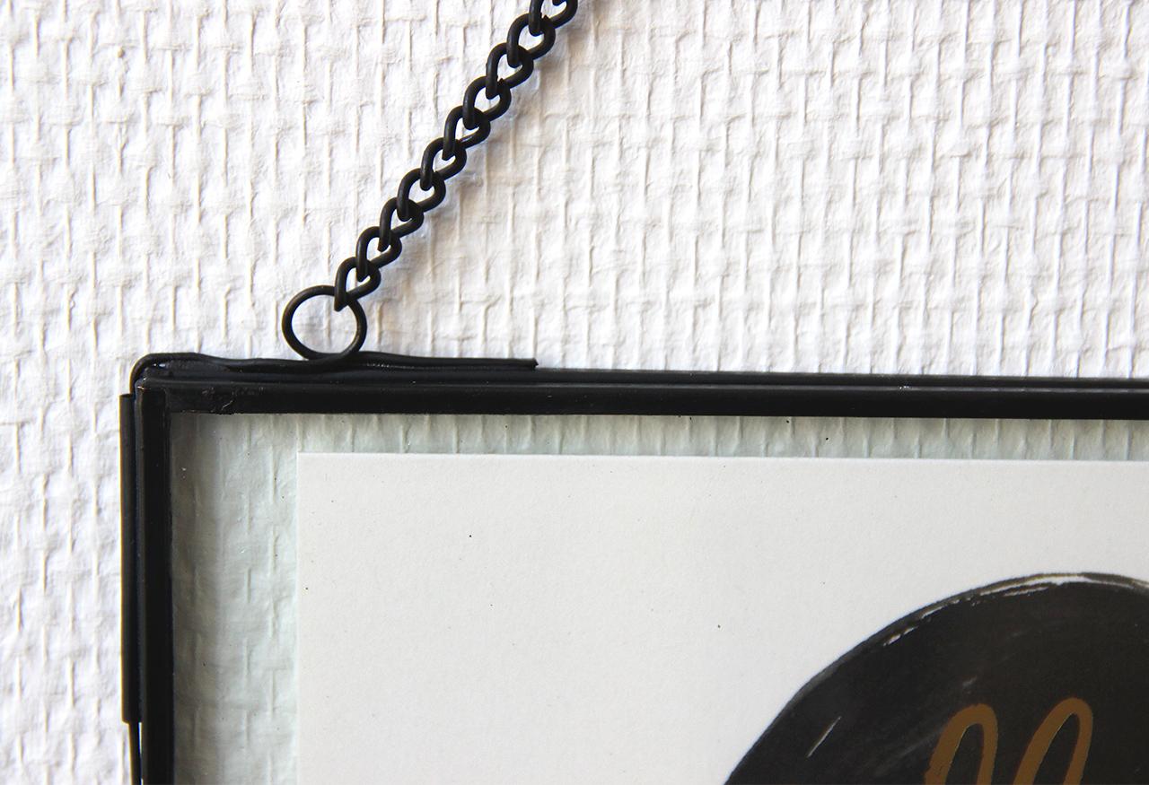 cadre en verre noir h bsch cadre en verre d coration maison math v. Black Bedroom Furniture Sets. Home Design Ideas
