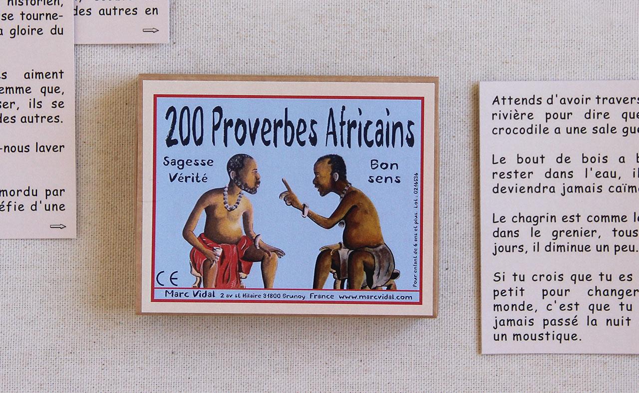 Mathûvû jeux marc vidal proverbes africains enfants lyon