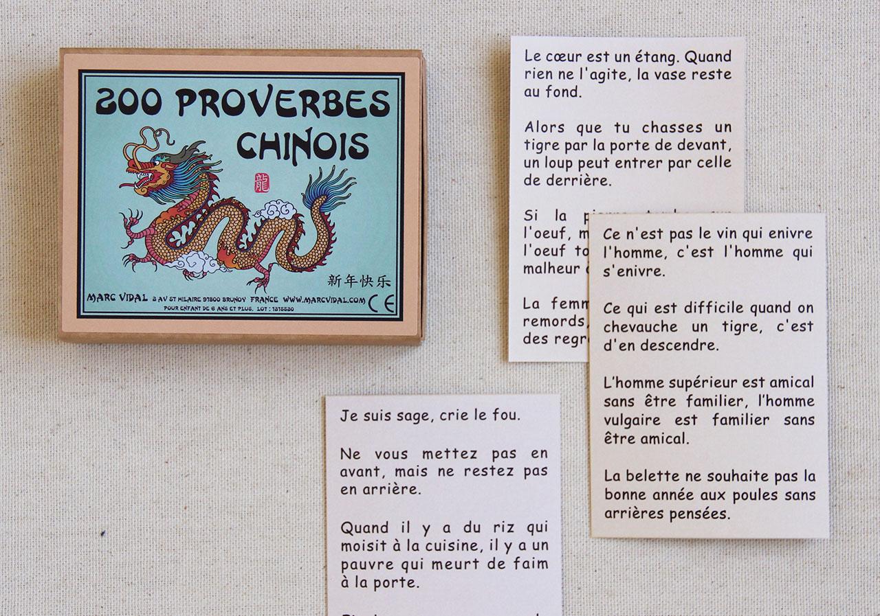 Mathûvû jeux marc vidal proverbes chinois enfants lyon
