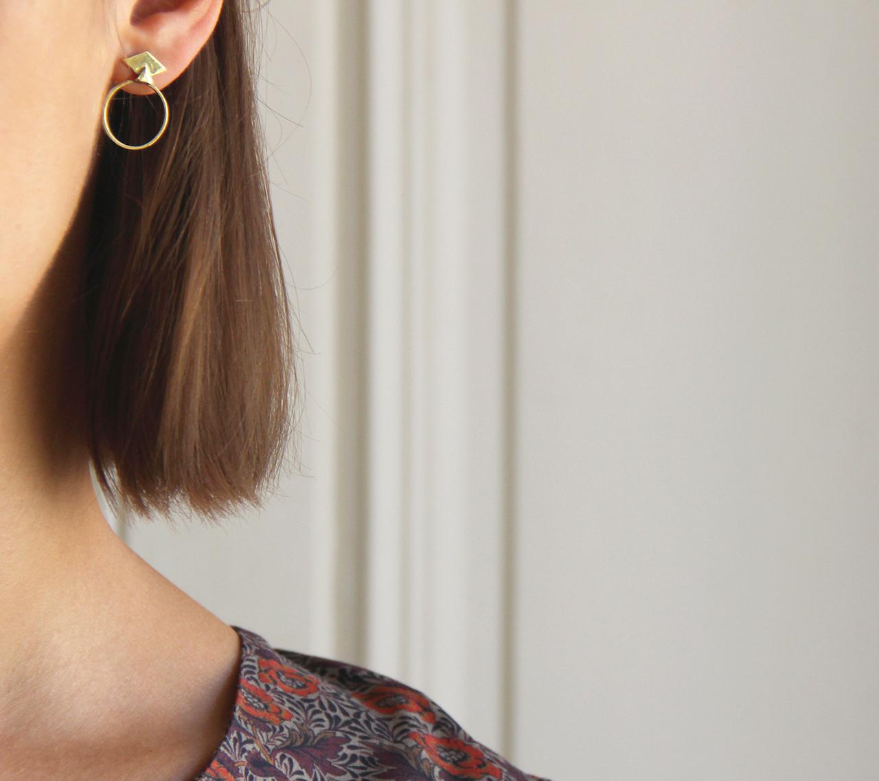 Boucles d 39 oreilles apolline de la collection maison math v for Arielle d collection maison