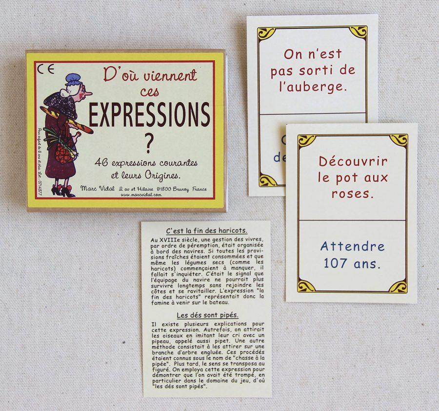 mathûvû enfants jeu cartes Marc Vidal expressions rétro lyon