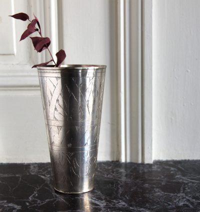 mathûvû décoration pot argenté house doctor gravé lyon