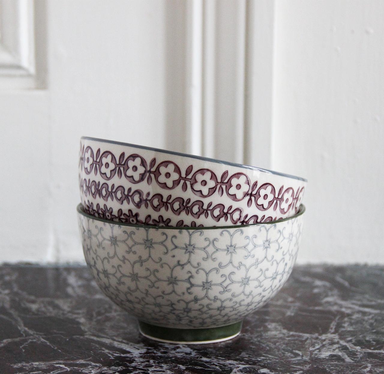 mathûvû bol bloomingville grs rose céramique vaisselle cuisine lyon