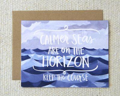 Carte Calmer Seas One canoe two - Mathûvû