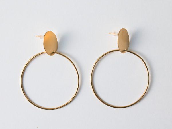 Boucles d'oreilles créole Stanka Mila Maison Mathûvû