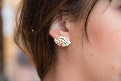 boucles d'oreilles éventail stanka mila mathuvu