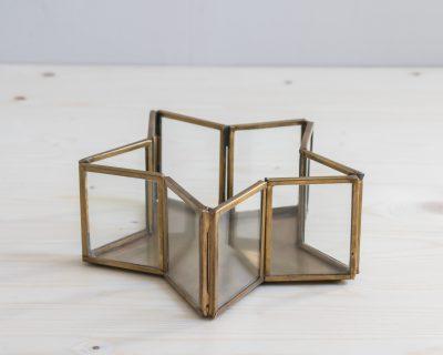 Boîte en verre - Etoile Nkuku mathuvu