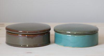 boîte céramique ronde bloomingville mathuvu