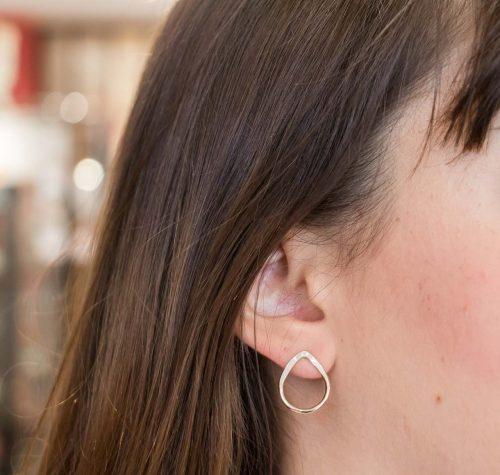 Boucles d'oreilles gouttes de rosée My Sen - Mathûvû
