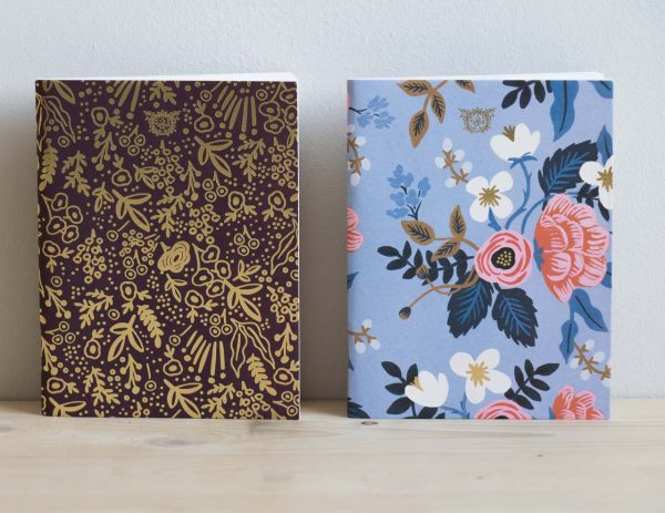 Carnet fleurs Rifle paper co Mathûvû