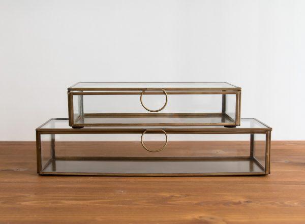 Boîte en verre rectangulaire Broste - Mathuvu