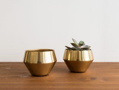 Coupelle dorée bloomingville - Mathuvu