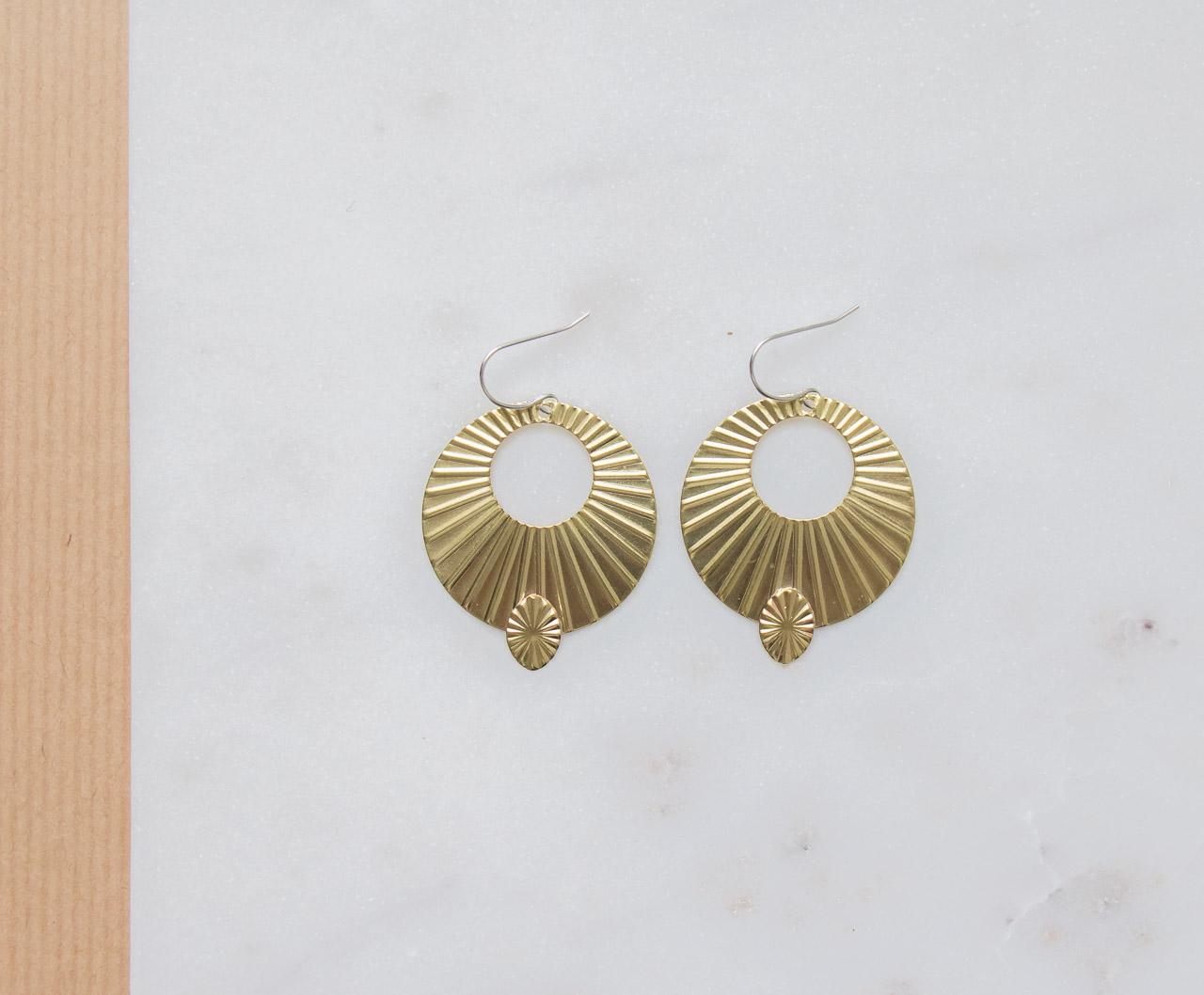 Boucles d 39 oreilles florence de la collection maison for Arielle d collection maison