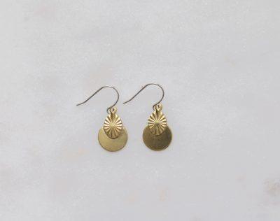 Boucles d'oreilles - Aurélie collection Mathûvû x Stanka Mila