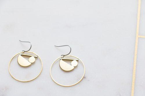 Boucles d'oreilles - Françoise collection Mathûvû x Stanka Mila