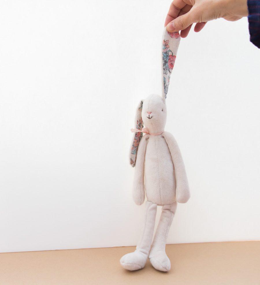Doudou lapin blanc Maileg - Mathûvû