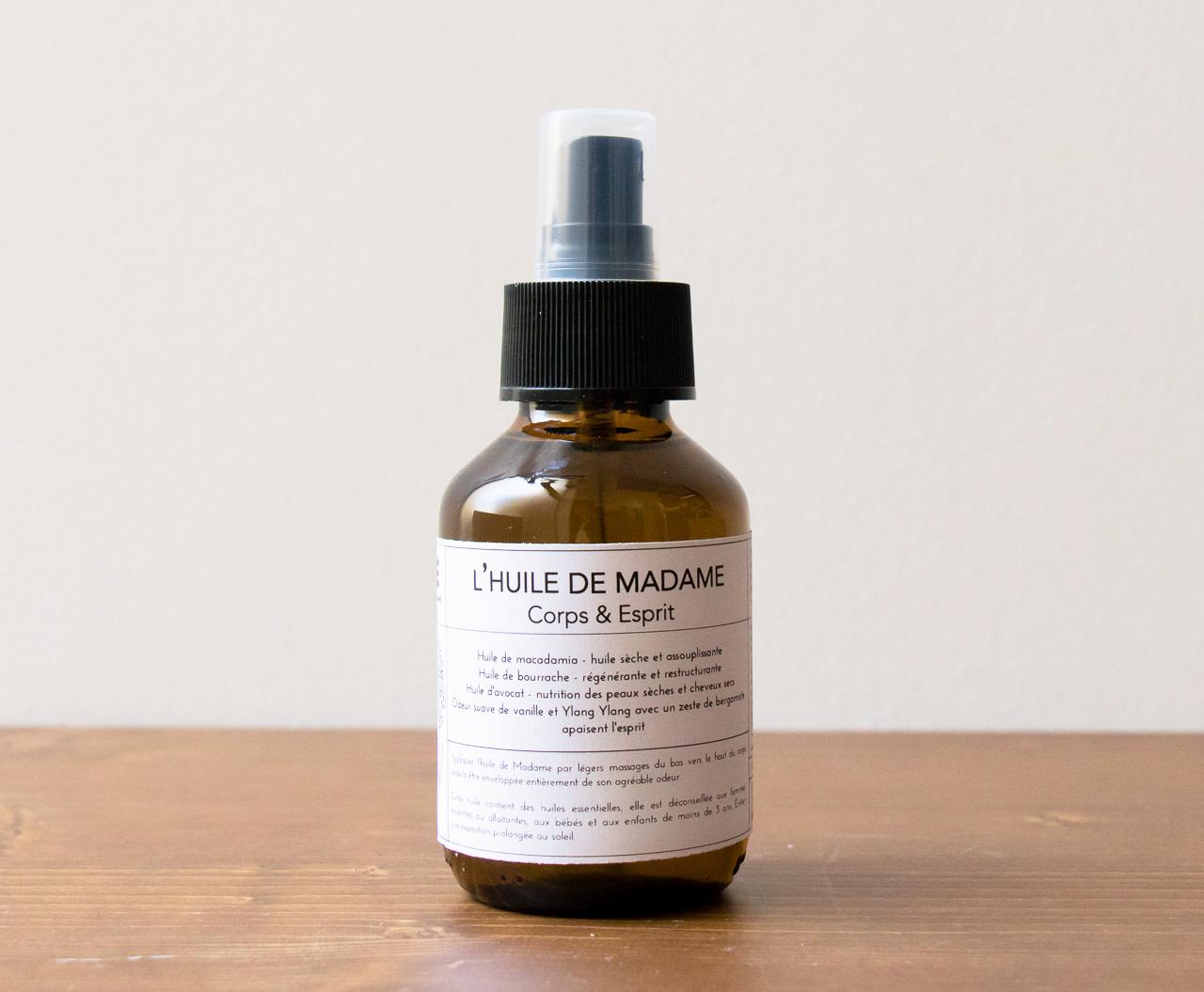 L'huile de Madame Moé Maison Mathûvû