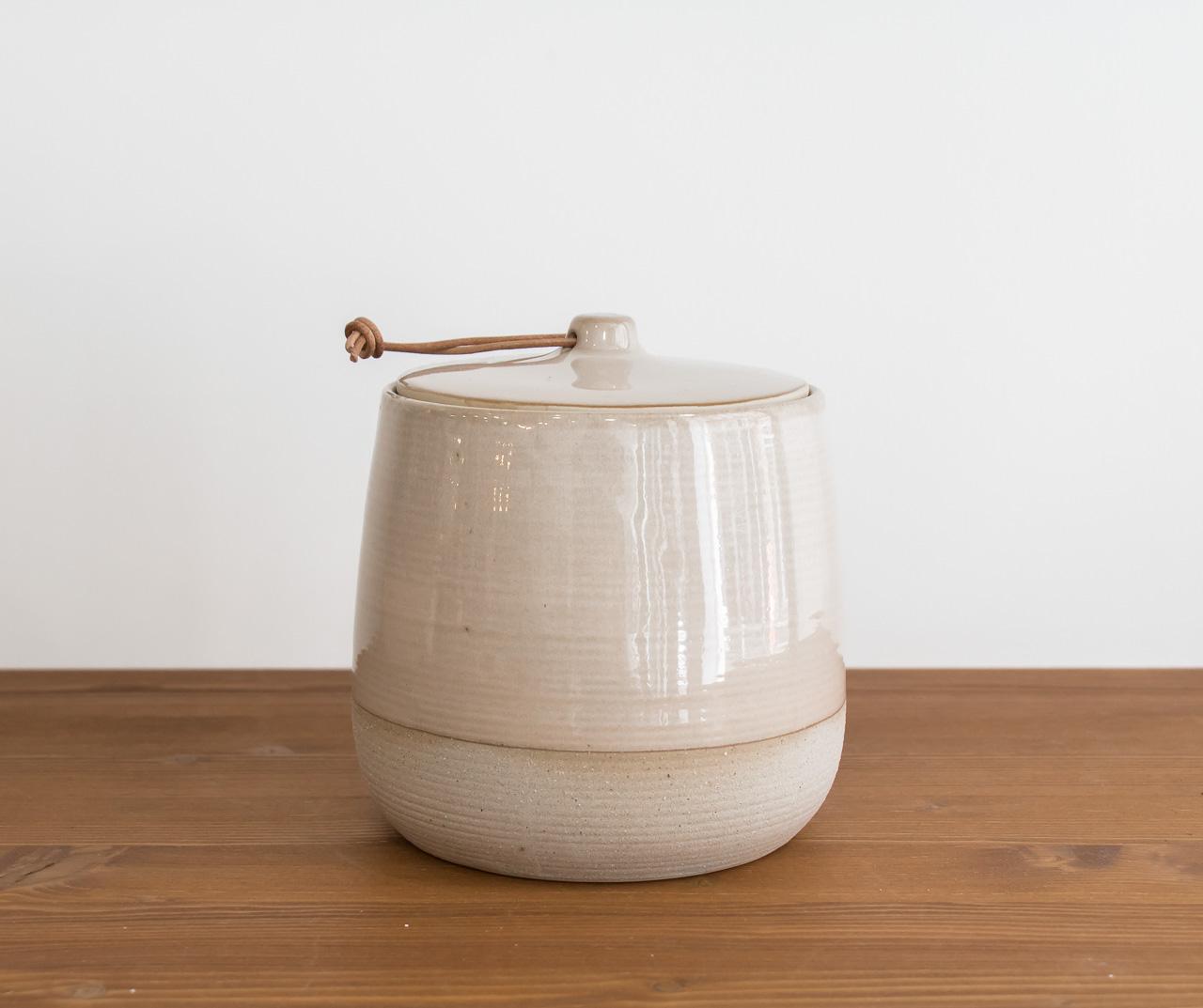 Pot beige bloomingville - Mathuvu