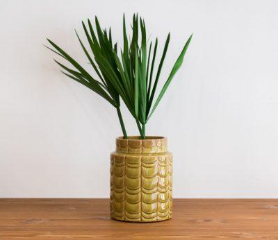 Vase ecaille vert bloomingville - Mathuvu