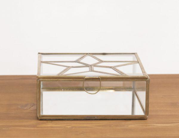 Boîte carrée étoile nkuku - Maison Mathûvû