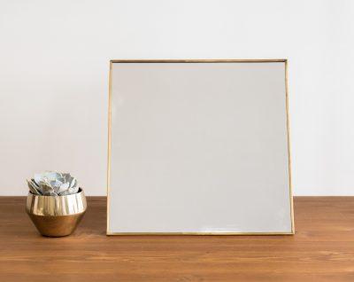 Miroir grand modèle - Carré Hübch- Maison Mathûvû