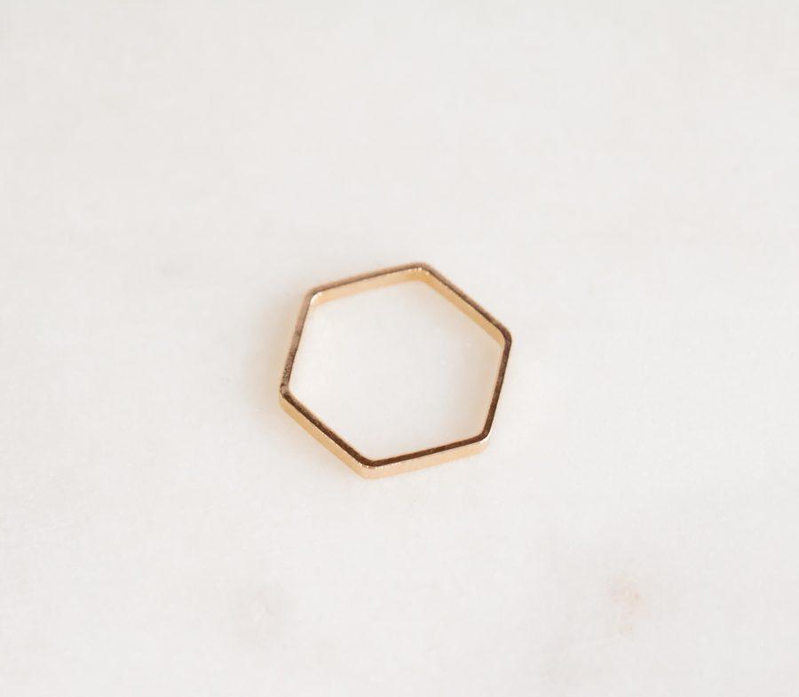 Bague Hexagone Stanka Mila - Mathûvû