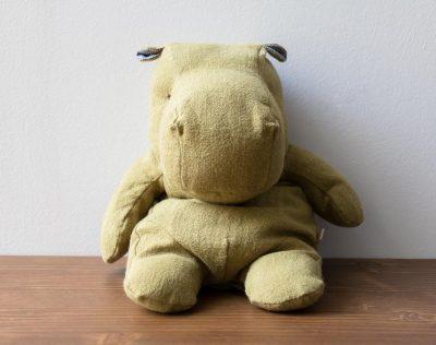 Peluche hippopotame vert Maileg - Maison Mathuvu