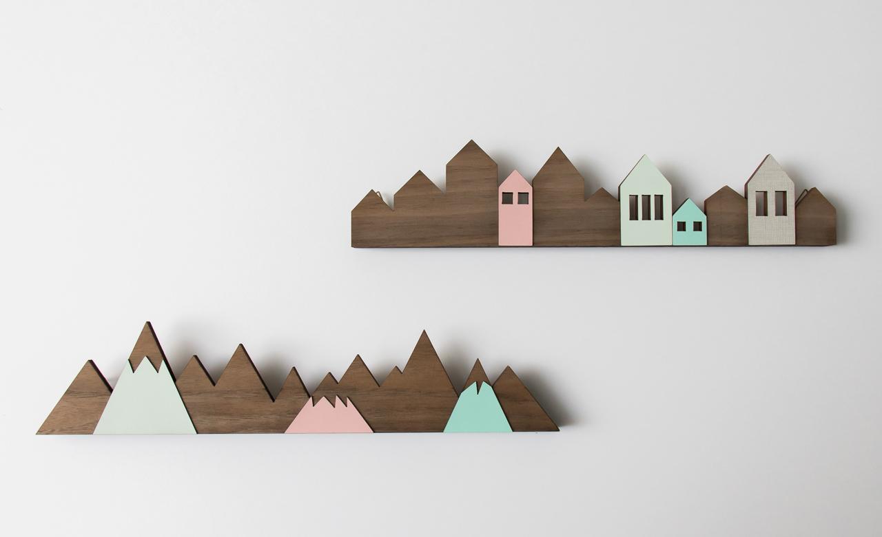 porte bijoux montagnes ou maisons shlomit ofir. Black Bedroom Furniture Sets. Home Design Ideas