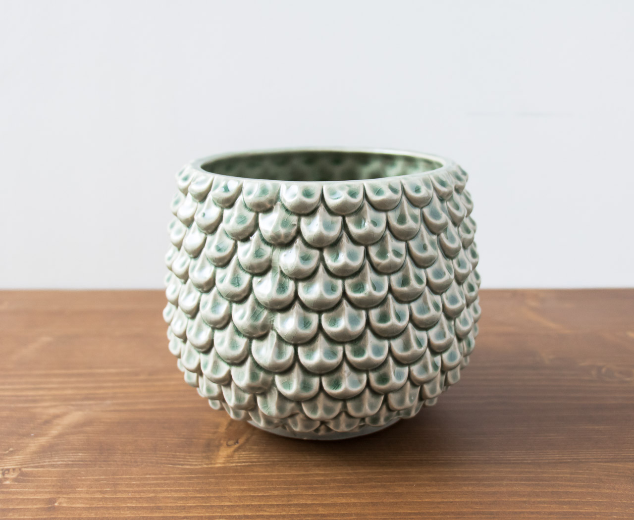 cache-pot vert Bloomingville - Maison Mathuvu