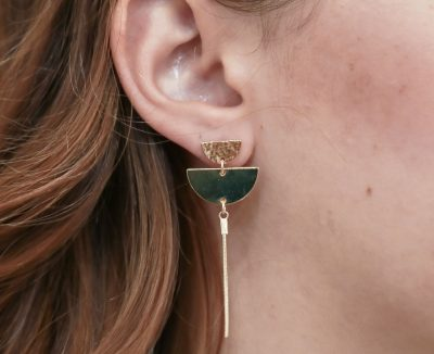 Boucles d'oreilles salinas Shlomit Ofir - Maison Mathuvu