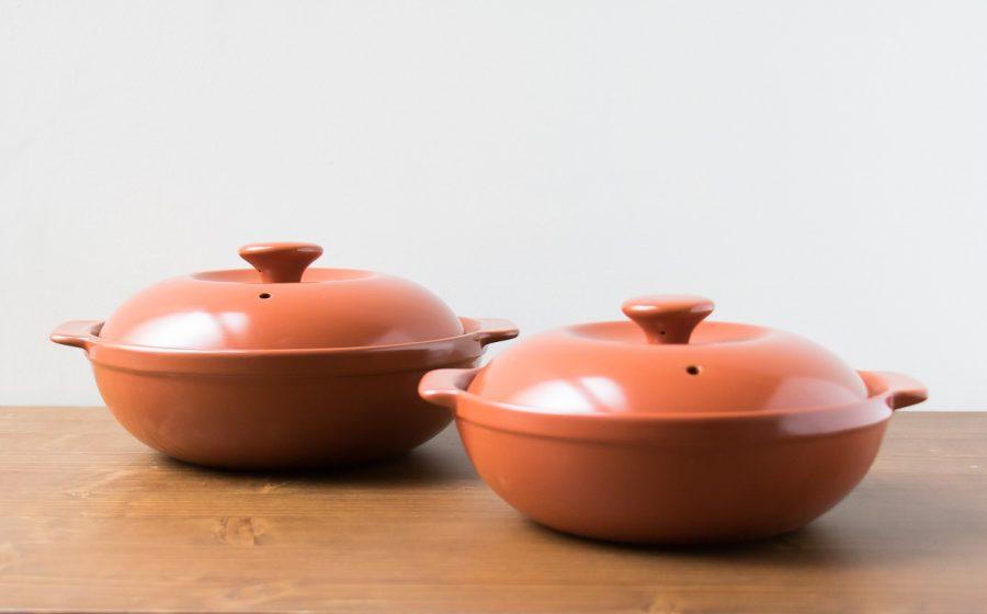 Cocotte en céramique orange Madame Stoltz Maison Mathûvû