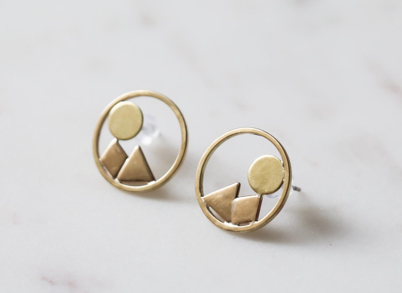 Boucles d'oreilles - Clélie petit modèle collection Maison Mathûvû