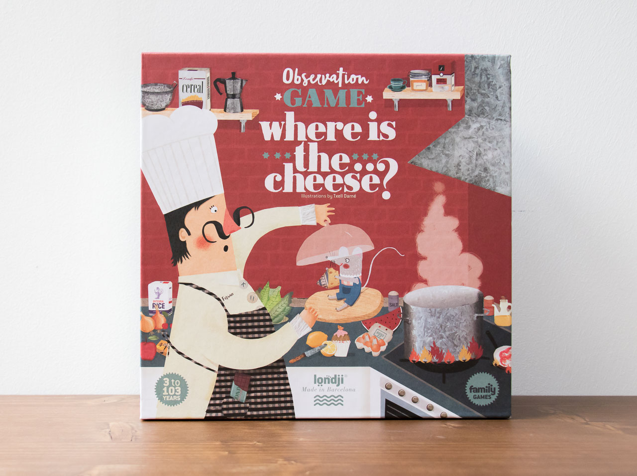 Jeu Where is the chees Londji - Maison Mathuvu