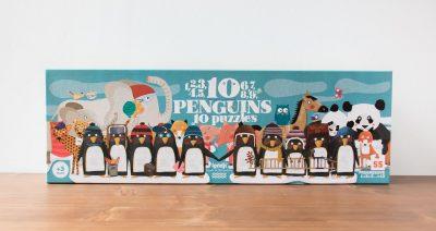 Puzzle 10 penguins Londji - Maison Mathuvu