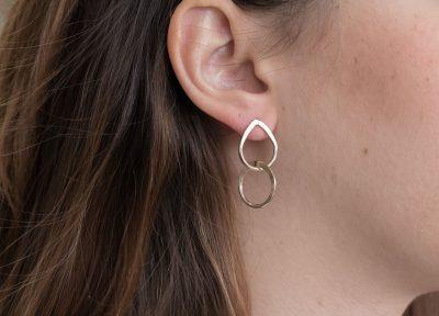 Boucles d'oreilles gouttes de rosée My sen - Maison Mathuvu