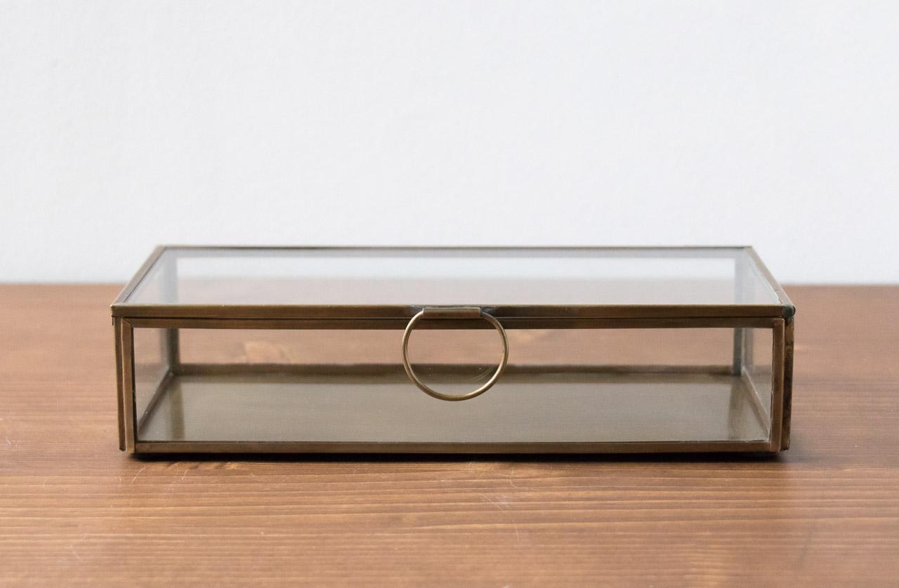Boîte rectangulaire en verre Broste Maison Mathûvû