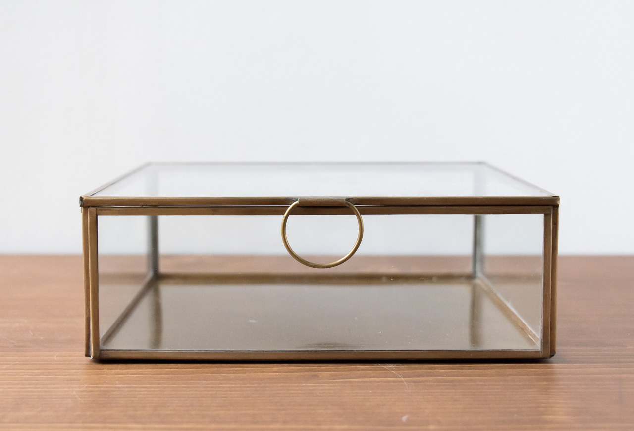 Boîte en verre carrée Broste Maison Mathûvû