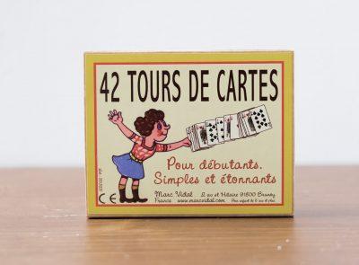 42 Tours de cartes Marc Vidal Maison Mathûvû