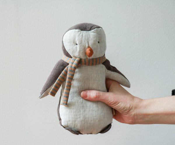 Doudou Pingouin Maileg Maison Mathûvû