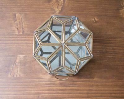 Boîte hexagonale étoile Nkuku - Maison Mathûvû