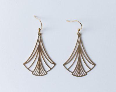 Boucles d'oreilles - Art déco Jisalée Maison Mathûvû