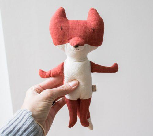 Doudou renard roux Maileg - Maison Mathûvû