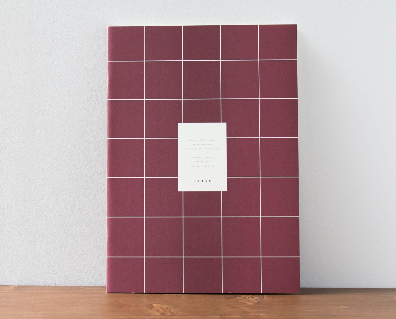 Cahier mensuel Milo Notem studio - Maison Mathûvû