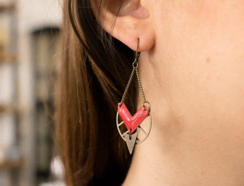Boucles d'oreilles flèche Jisalée - Maison Mathûvû