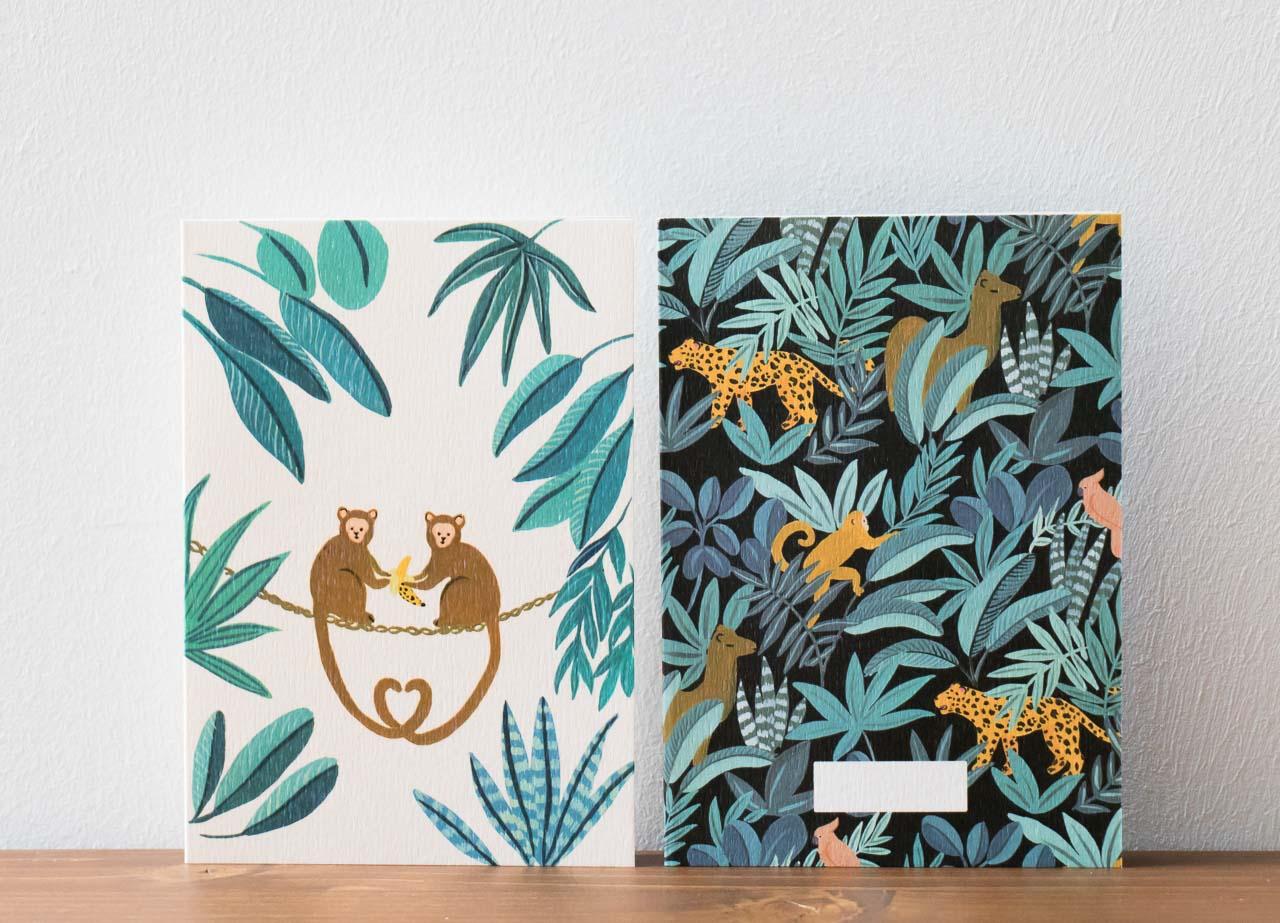 Carte Jungle Season Paper - Maison Mathûvû
